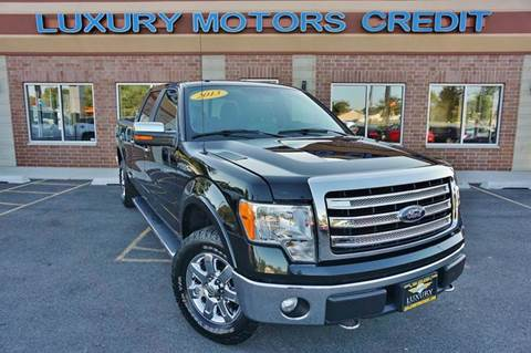 2013 Ford F-150 for sale at Luxury Motors Credit Inc in Bridgeview IL