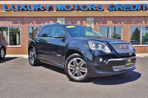 2012 GMC Acadia for sale at Luxury Motors Credit Inc in Bridgeview IL