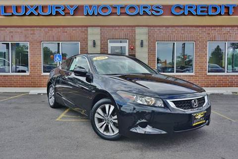 2008 Honda Accord for sale at Luxury Motors Credit Inc in Bridgeview IL