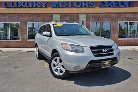 2007 Hyundai Santa Fe for sale at Luxury Motors Credit Inc in Bridgeview IL