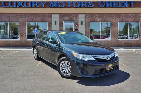 2013 Toyota Camry for sale at Luxury Motors Credit Inc in Bridgeview IL