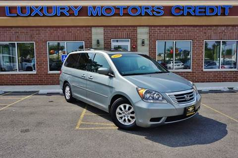 2010 Honda Odyssey for sale at Luxury Motors Credit Inc in Bridgeview IL