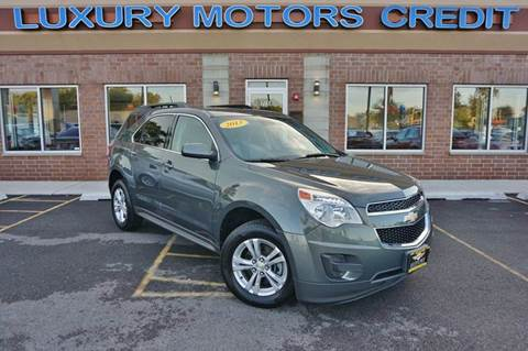2013 Chevrolet Equinox for sale at Luxury Motors Credit Inc in Bridgeview IL