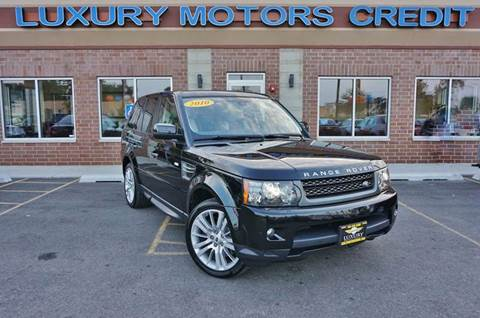 2010 Land Rover Range Rover Sport for sale at Luxury Motors Credit Inc in Bridgeview IL