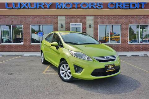 2011 Ford Fiesta for sale at Luxury Motors Credit Inc in Bridgeview IL