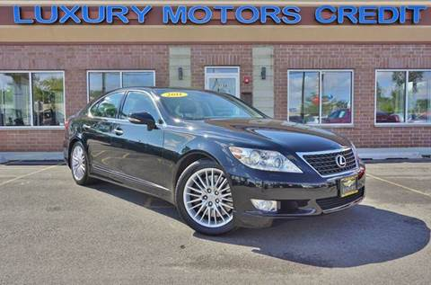2011 Lexus LS 460 for sale at Luxury Motors Credit Inc in Bridgeview IL
