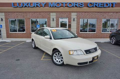 1999 Audi A6 for sale at Luxury Motors Credit Inc in Bridgeview IL