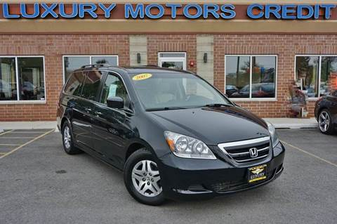 2007 Honda Odyssey for sale at Luxury Motors Credit Inc in Bridgeview IL