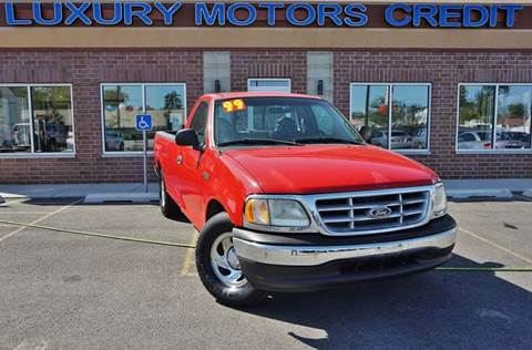 1999 Ford F-150 for sale at Luxury Motors Credit Inc in Bridgeview IL