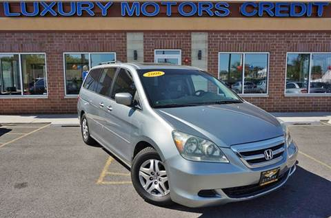 2006 Honda Odyssey for sale at Luxury Motors Credit Inc in Bridgeview IL
