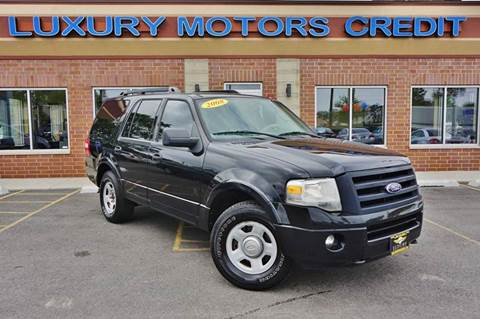 2008 Ford Expedition for sale at Luxury Motors Credit Inc in Bridgeview IL