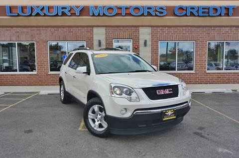 2009 GMC Acadia for sale at Luxury Motors Credit Inc in Bridgeview IL
