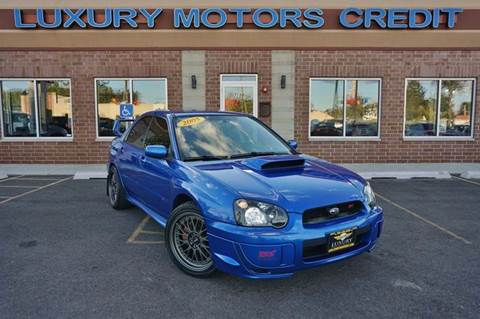 2005 Subaru Impreza for sale at Luxury Motors Credit Inc in Bridgeview IL