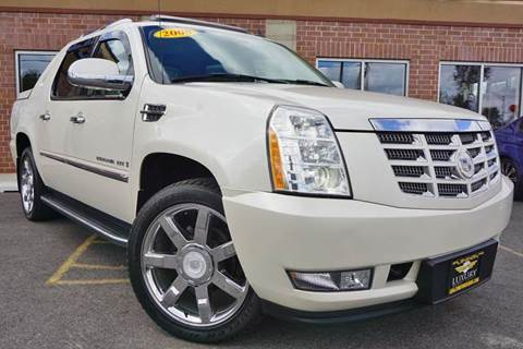 2008 Cadillac Escalade EXT for sale at Luxury Motors Credit Inc in Bridgeview IL