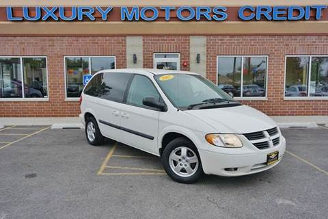 2007 Dodge Caravan for sale at Luxury Motors Credit Inc in Bridgeview IL