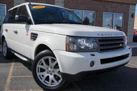 2008 Land Rover Range Rover Sport for sale at Luxury Motors Credit Inc in Bridgeview IL