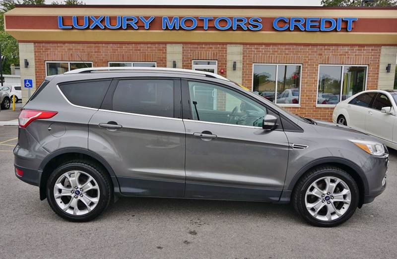 2014 ford escape titanium 4dr suv in bridgeview il for Luxury motors bridgeview il