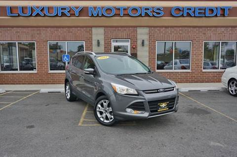 2014 Ford Escape for sale at Luxury Motors Credit Inc in Bridgeview IL