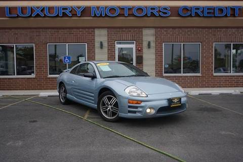 2003 Mitsubishi Eclipse for sale at Luxury Motors Credit Inc in Bridgeview IL