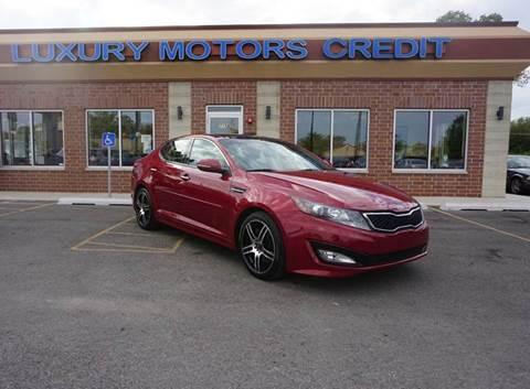 2012 Kia Optima for sale at Luxury Motors Credit Inc in Bridgeview IL