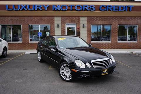 2008 Mercedes-Benz E-Class for sale at Luxury Motors Credit Inc in Bridgeview IL