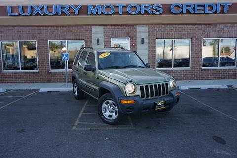 2003 Jeep Liberty for sale at Luxury Motors Credit Inc in Bridgeview IL