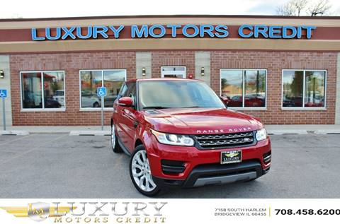 2014 Land Rover Range Rover Sport for sale at Luxury Motors Credit Inc in Bridgeview IL