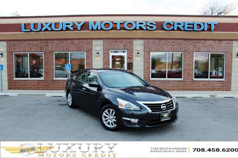 2014 Nissan Altima for sale at Luxury Motors Credit Inc in Bridgeview IL
