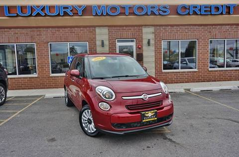 2015 FIAT 500L for sale at Luxury Motors Credit Inc in Bridgeview IL
