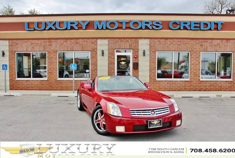 2005 Cadillac XLR for sale at Luxury Motors Credit Inc in Bridgeview IL