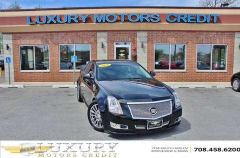 2011 Cadillac CTS for sale at Luxury Motors Credit Inc in Bridgeview IL