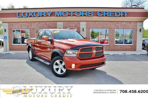 2013 RAM Ram Pickup 1500 for sale at Luxury Motors Credit Inc in Bridgeview IL