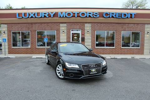 2014 Audi A7 for sale at Luxury Motors Credit Inc in Bridgeview IL