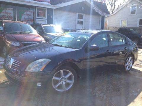 2006 Nissan Maxima for sale at Cass Auto Sales Inc in Joliet IL