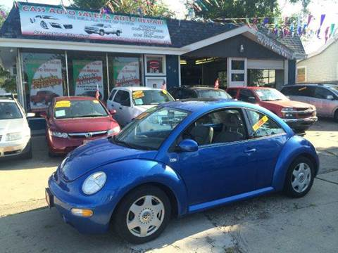 2001 Volkswagen Beetle for sale at Cass Auto Sales Inc in Joliet IL