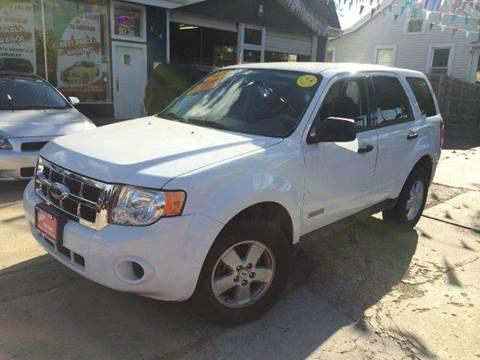2008 Ford Escape for sale at Cass Auto Sales Inc in Joliet IL