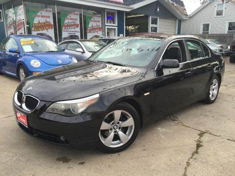 2006 BMW 5 Series for sale at Cass Auto Sales Inc in Joliet IL