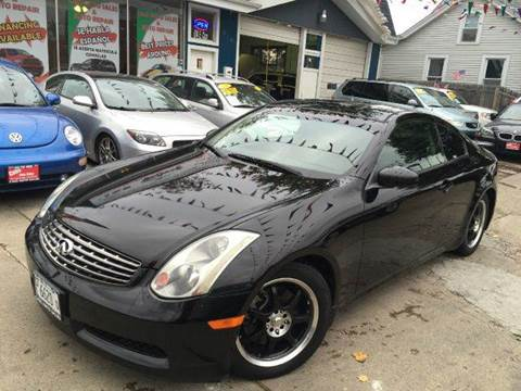2005 Infiniti G35 for sale at Cass Auto Sales Inc in Joliet IL
