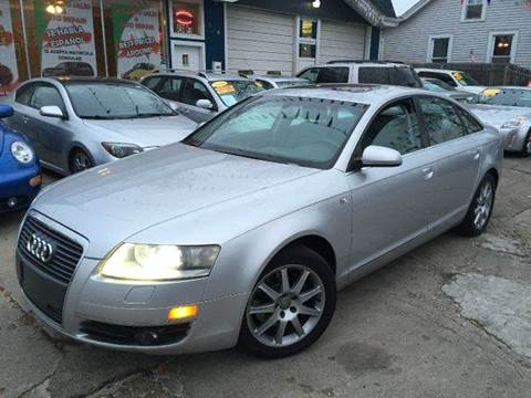 2005 Audi A6 for sale at Cass Auto Sales Inc in Joliet IL