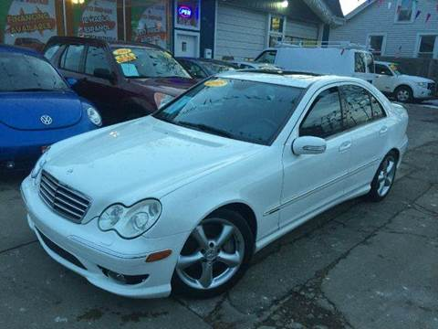2005 Mercedes-Benz C-Class for sale at Cass Auto Sales Inc in Joliet IL