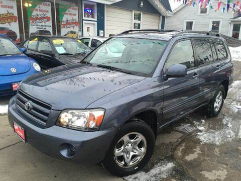 2004 Toyota Highlander for sale at Cass Auto Sales Inc in Joliet IL