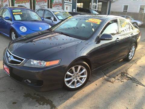 2007 Acura TSX for sale at Cass Auto Sales Inc in Joliet IL