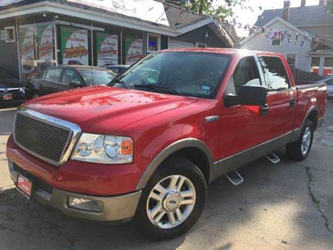 2004 Ford F-150 for sale at Cass Auto Sales Inc in Joliet IL