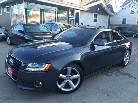 2009 Audi A5 for sale at Cass Auto Sales Inc in Joliet IL