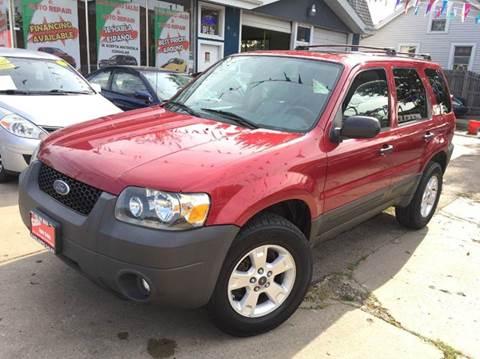 2005 Ford Escape for sale at Cass Auto Sales Inc in Joliet IL