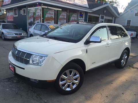 2008 Lincoln MKX for sale at Cass Auto Sales Inc in Joliet IL