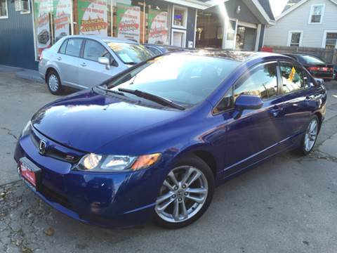 2007 Honda Civic for sale at Cass Auto Sales Inc in Joliet IL