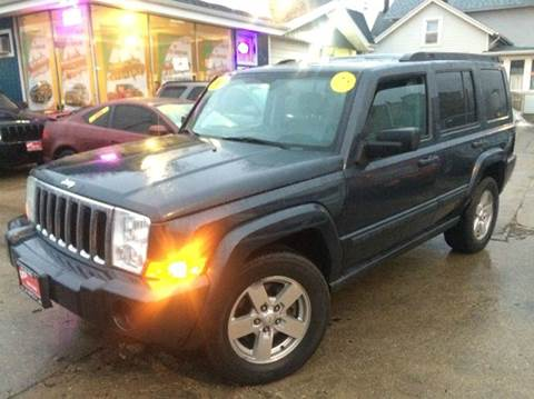 2007 Jeep Commander for sale at Cass Auto Sales Inc in Joliet IL