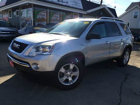 2010 GMC Acadia for sale at Cass Auto Sales Inc in Joliet IL