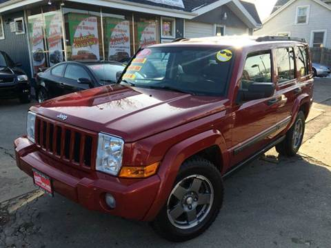 2006 Jeep Commander for sale at Cass Auto Sales Inc in Joliet IL